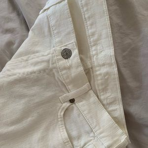 White 7 for all man kind skinny jeans brand new